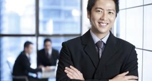 Asian-businessman